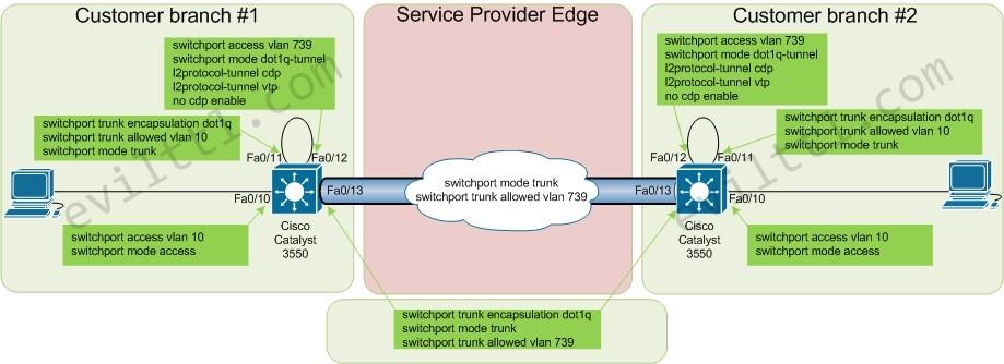 Q in Q | Evil TTL - Network Solutions